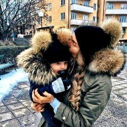 Čepice pro mámu a dceru Alicia