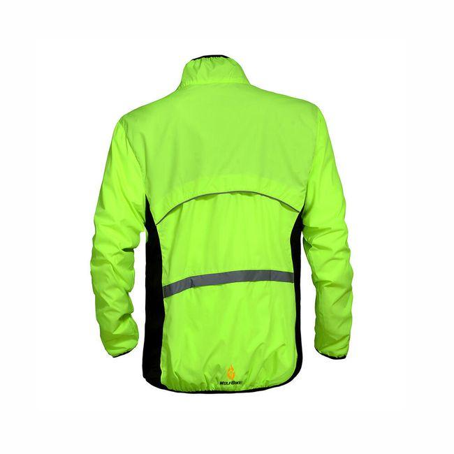 Férfi kerékpáros kabát fényvisszaverő elemekkel - 5 szín