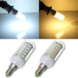 7V LED sijalica sa 36 LED diodama - 2 boje svetlosti (E14 utičnica)