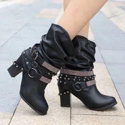 Dámské boty na podpatku VR6