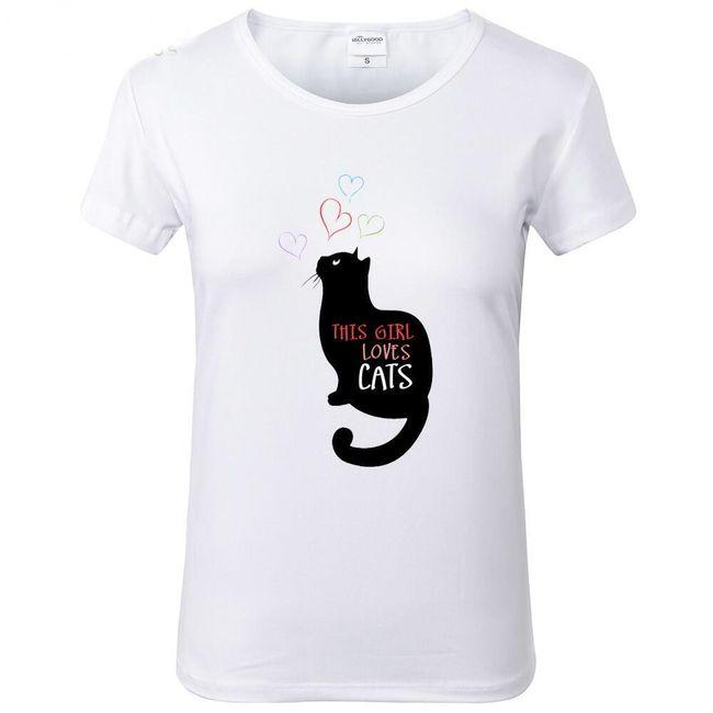 Dámské tričko Valerie 1