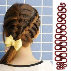 Аксессуар для плетения кос F66