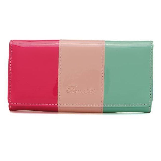 Három színű pénztárca - különböző minták 1