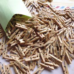 Clești din lemn - 50 bucați