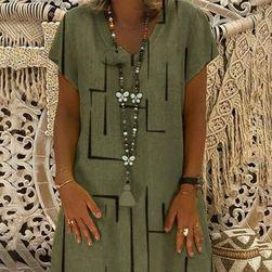 Dámské šaty Lenna Zelená - velikost 2XL/3XL