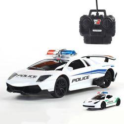 Zdalnie sterowane auto policyjne dla chłopaków