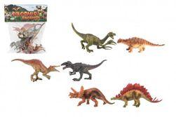 Dinozaur plastikowy 15-16cm 6szt w torbie RM_00850134