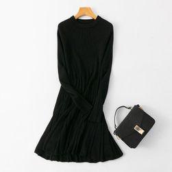 Damska pleciona sukienka Alessa