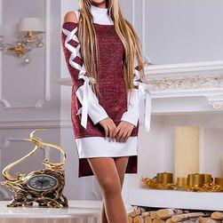 Ženska haljina-dukserica Lenia