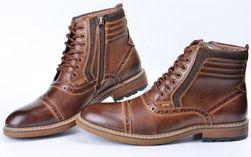 Мужские зимние ботинки PZB4589