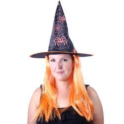 Klobouk čarodějnice/Halloween s vlasy RZ_187733