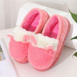 Roztomilé papuče s kožíškem - 5 barev