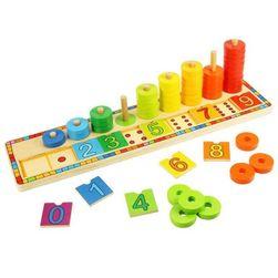 Bigjigs Toys Deska nasazování s čísly RZ_195314