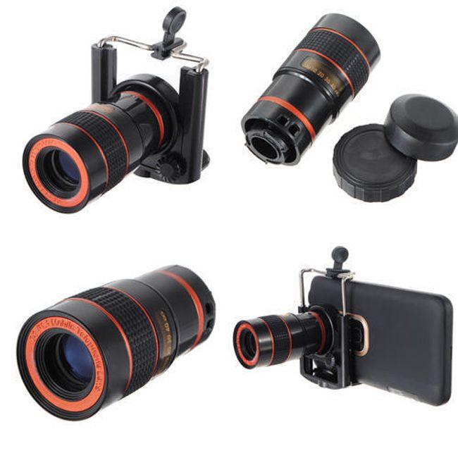Objektív mobiltelefonhoz - 8x optikai zoom 1
