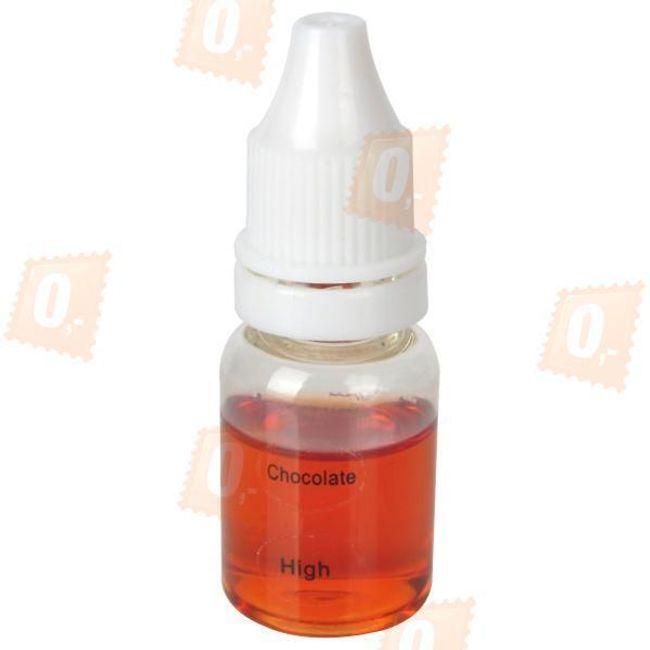 10ml E-liquid, Čokoládová příchuť, vysoký obsah nikotinu 1