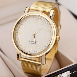 Sat u pristojnom dizajnu - zlatna boja