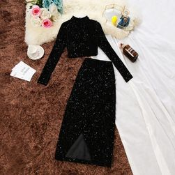 Женский комплект юбка и топ Mila