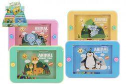 Vízi játék puzzle 15x10cm műanyag állatok az állatkertben 4 faj RM_00850350