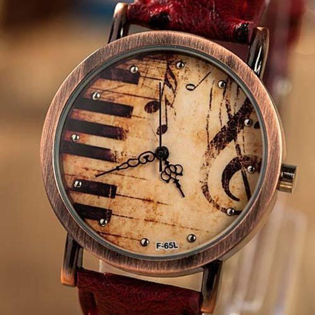 Винтажные часы для меломанов 1
