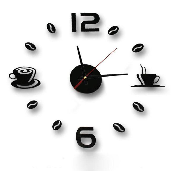 Nalepovací hodiny - dodělej si sám 1
