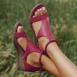Ženski sandali na platformi WO44