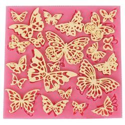 Silikonski kalup - leptiri