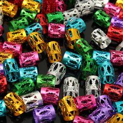 Perle za pletenice ili dredove - 100 komada