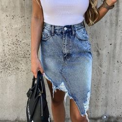 Jeansowa spódniczka TF8255