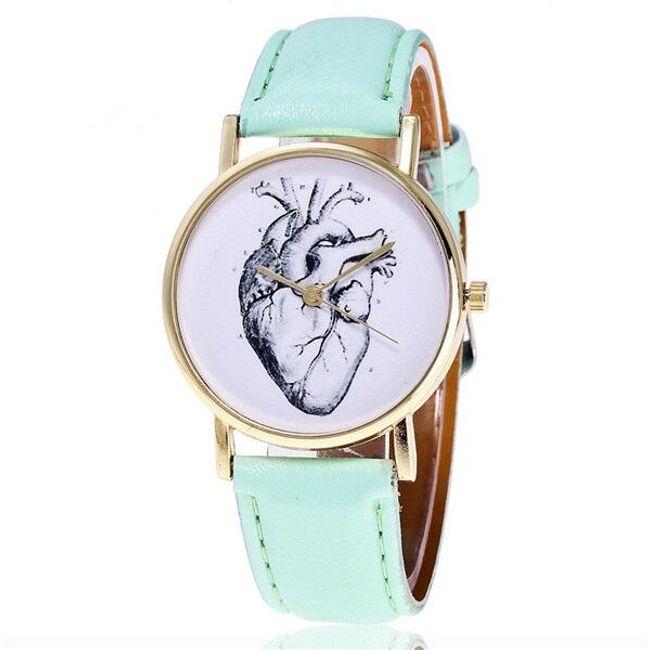 Hodinky se srdcem - 5 barev. 1