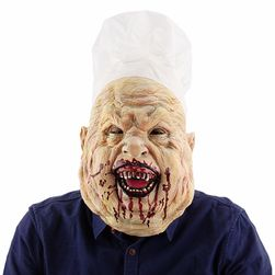 Maska zombie rzeźnik