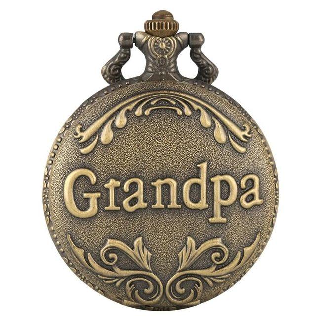 Kapesní hodinky Grandpa 1
