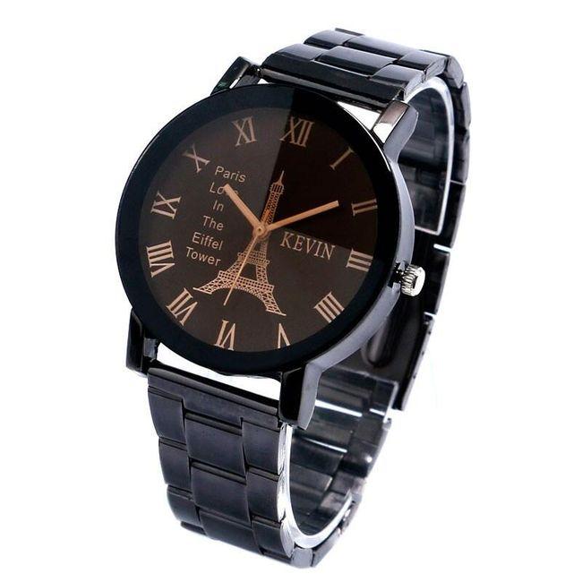 Dámské náramkové hodinky s motivem Eiffelovky - 2 varianty 1