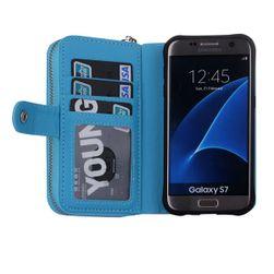 Pénztárca modern stílusban Samsung Galaxy S7 Edge-hez