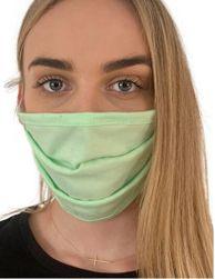 Zaščitna bombažna maska - Zelena PR_P42754
