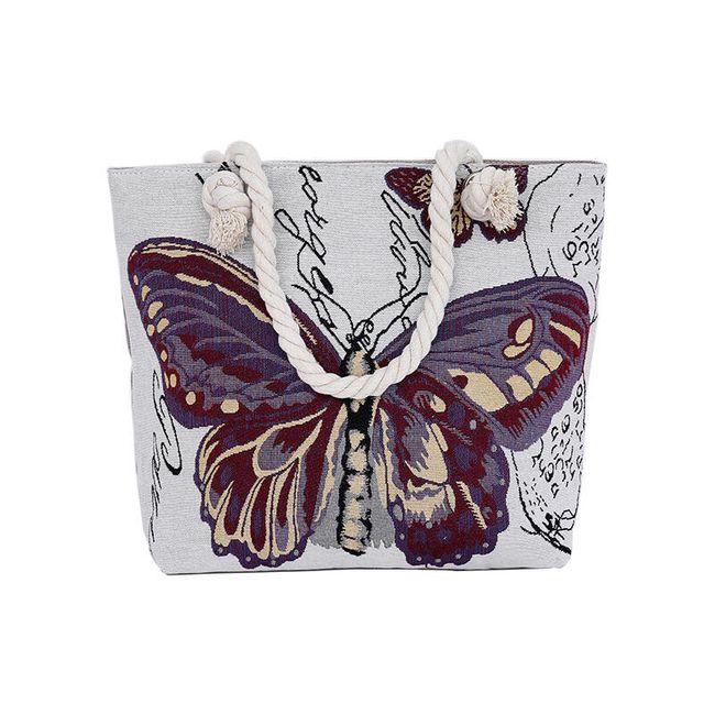 Taška s motýlem - 4 varianty 1