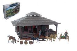 Zvieratká sada veľká farma s doplnkami plast v krabici 60x41x13,5cm RM_00311475