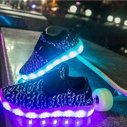 Podświetlane taśmy LED na buty z regulacją koloru