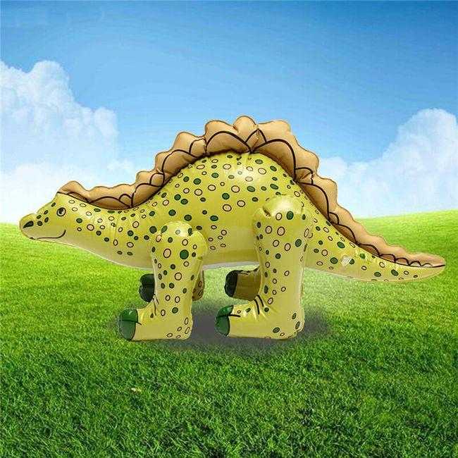 Надувная игрушка- Динозавр, 73х35 см. 1