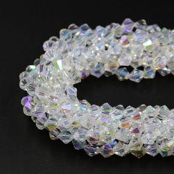 Barevné i jednobarevné korálky pro tvoření šperků