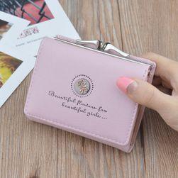 Dámská peněženka B01446 Světle růžová