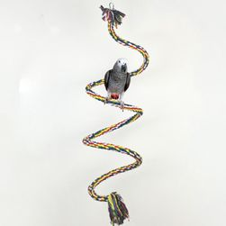 Hračka pro papoušky - 100 cm