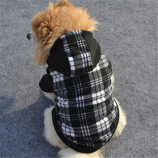 Курточка для собак в клетку 1