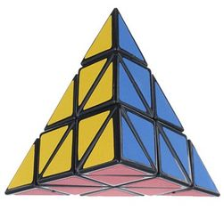 Cub rubik in formă de piramidă