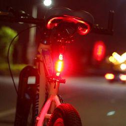 Zadnje LED svetlo za bicikl - 3 boje