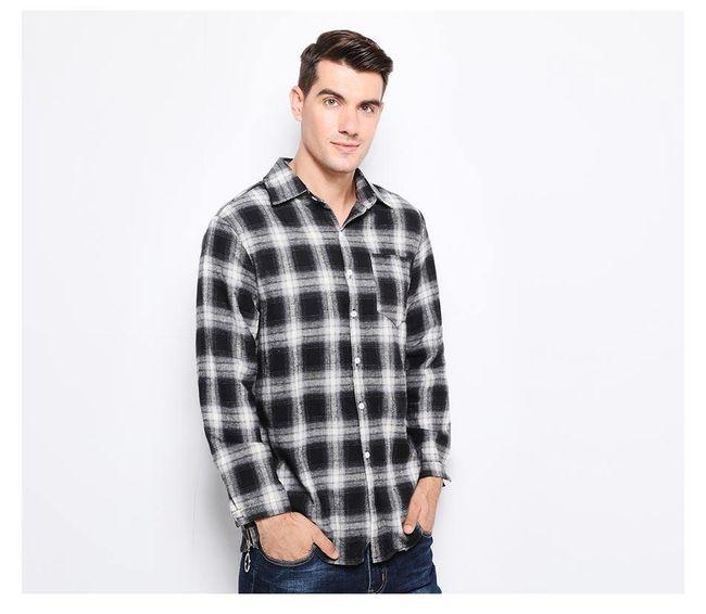 Férfi kockás ing - két változat
