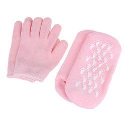 Sada rukavic a ponožek pro hydrataci