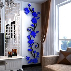 3D nalepnica na zid sa motivom puzavice