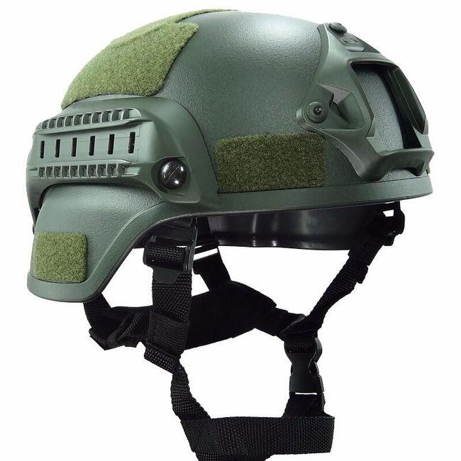 Vojenská helma - mix barev 1