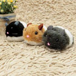 Natahovací myš pro kočky v různých barvách