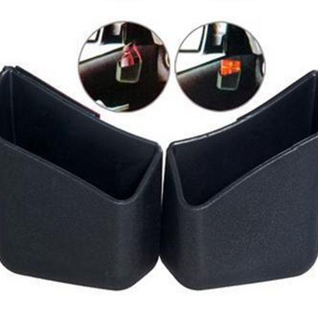 Dodaci za automobil - plastični džepovi za sitnice, 2 komada 1
